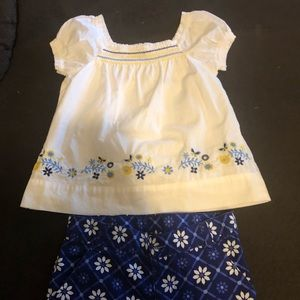 Children's place gently used outfit.